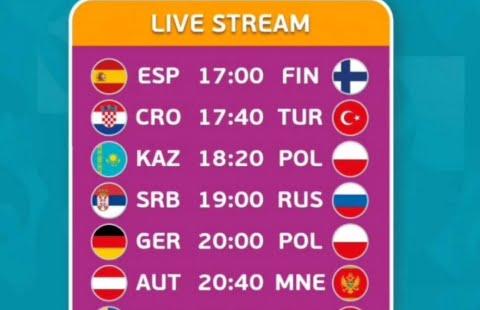 LIVE RCTI, Link streaming Swedia vs Polandia EURO 2020 Nonton di Tv Online jam 23.00