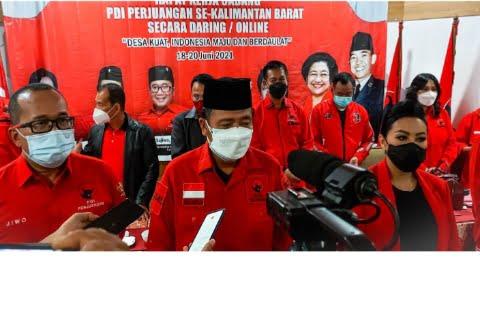 DPC PDI Perjuangan se-Kalbar Usulkan Lasarus sebagai Cagub 2024