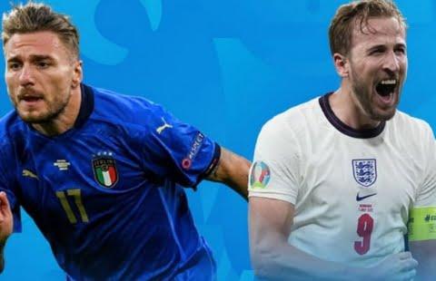 Hasil Skor dan Live Streaming ITALIA VS INGGRIS Final Euro 2021: Inggris Unggul (Skor Sementara)