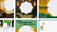 GAMBAR Dan TWIBBON Tahun Baru Islam 2021 Versi KEMENAG 1443 Hijriyah