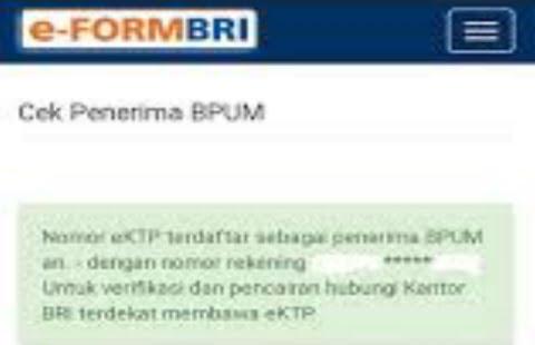 CEK DISINI BLT UMKM 2021 Tahap 3 Cair Lewat Link eform.bri.co.id/bpum