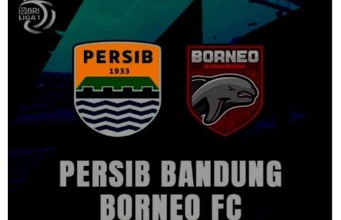 Link Live Streaming Nonton Persib Bandung Vs Borneo FC Hari ini