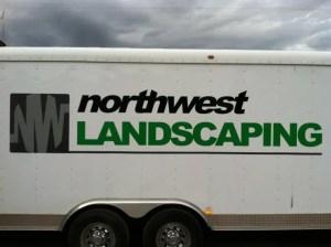 Northwest Landscape trailer graphic