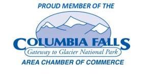 Columbia Falls Chamber of Commerce logo