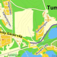 Lättare att gå och cykla i Rönninge och till Tumba