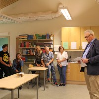 Nytorpsskolan får besök från Krakow i Polen