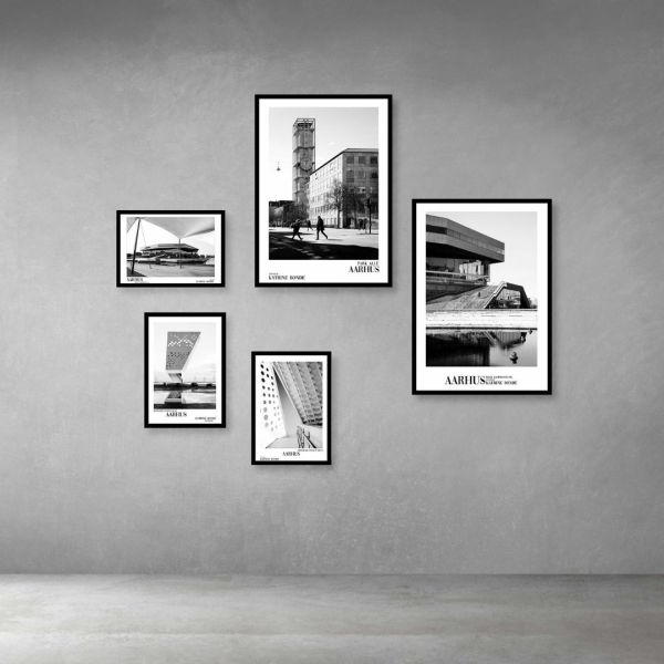 Arkitektur billedevæg