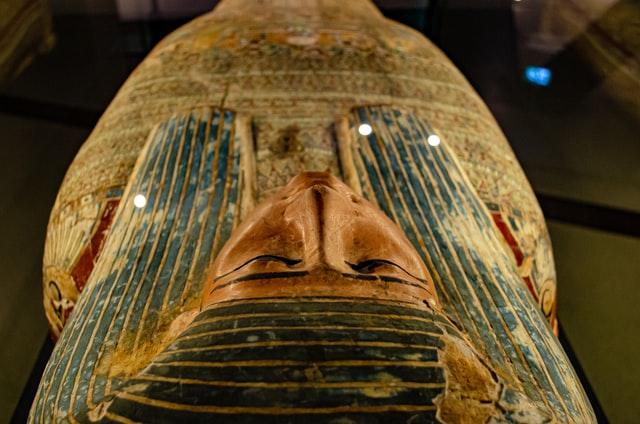 Pharaoh's Mummy. Photo by Narciso Arellano.