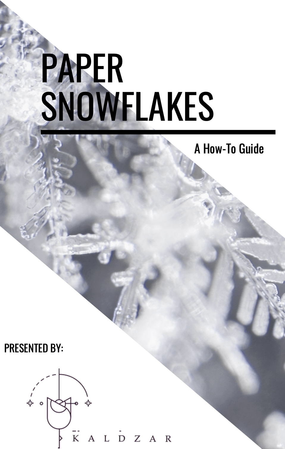 Paper Snowflakes - A How To Guide