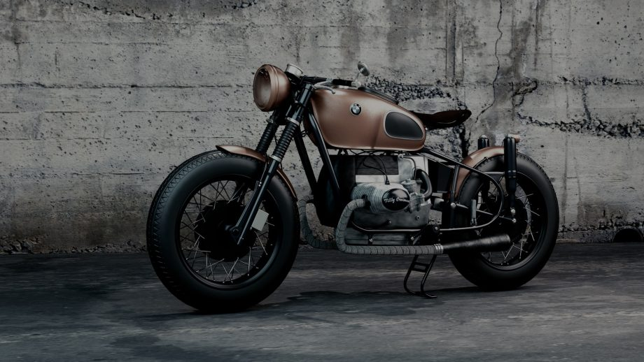 this classic motorbike is a beauty