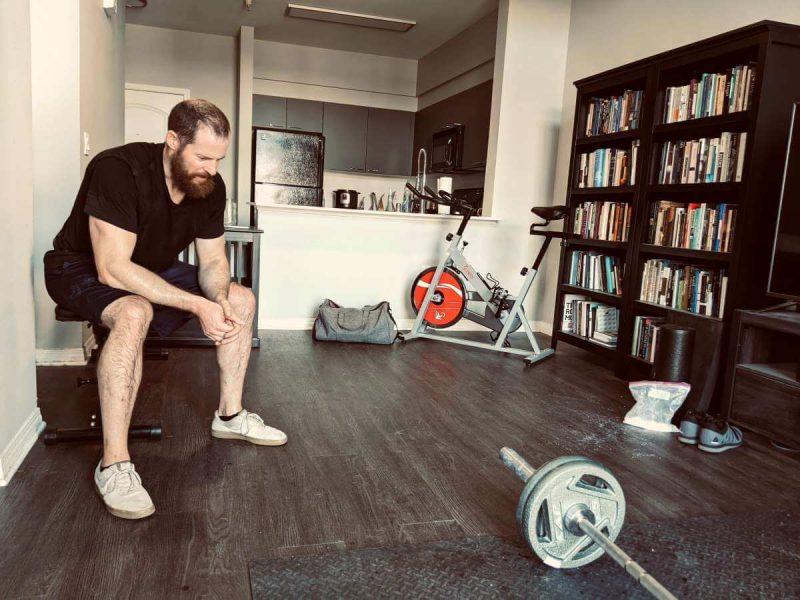 Landmine workout with Trevor