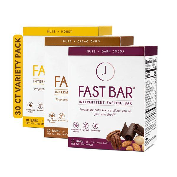Fast Bar Variety Pack - 3x10