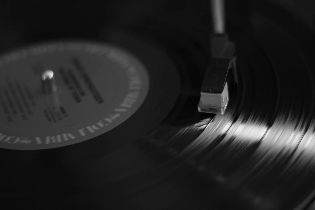 Music Record. Image by Bob Clark.