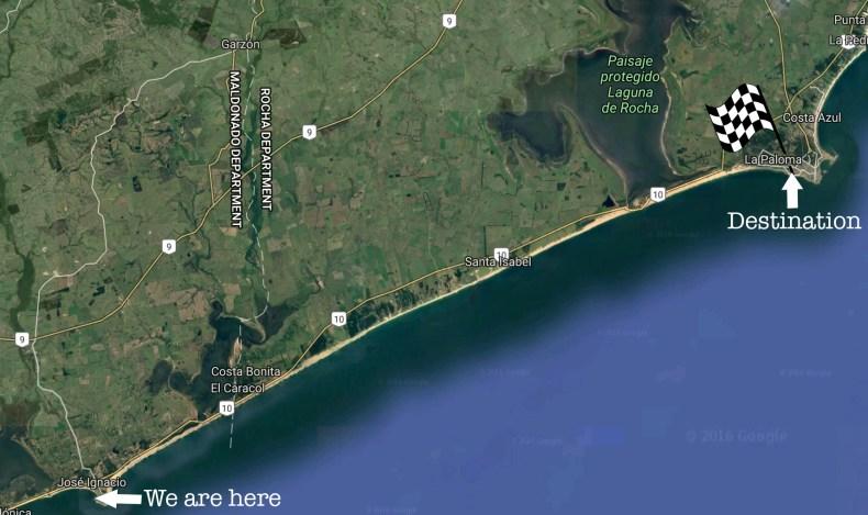 jose-ignacio-to-la-paloma-route-map