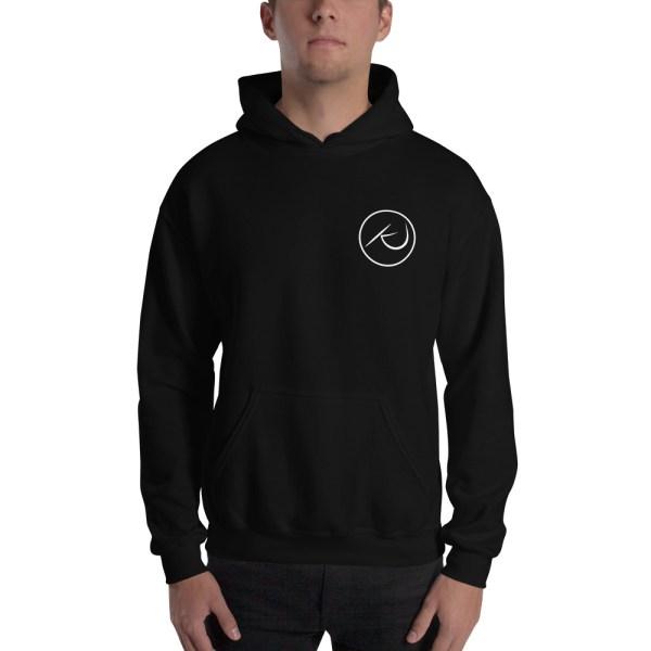 Kaleb Justice Brand Black Hoodie