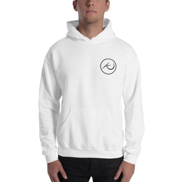 Kaleb Justice Brand White Hoodie
