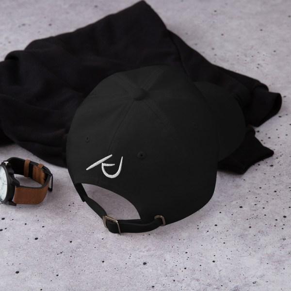 KJ Design Black Hat Back Product Mockup
