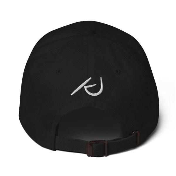 KJ Design Black Hat Back