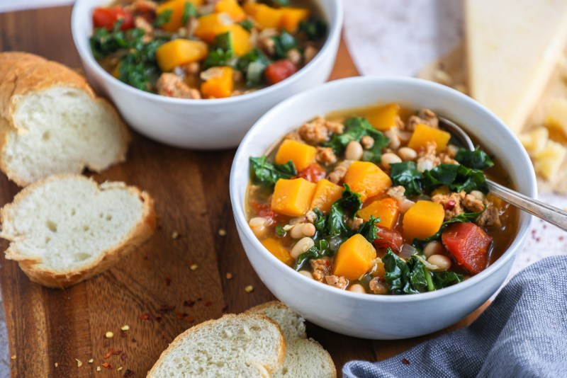 Minimal ingredients and all made in one pot! This is one delicious wintertime soup you'll want to make again and again!