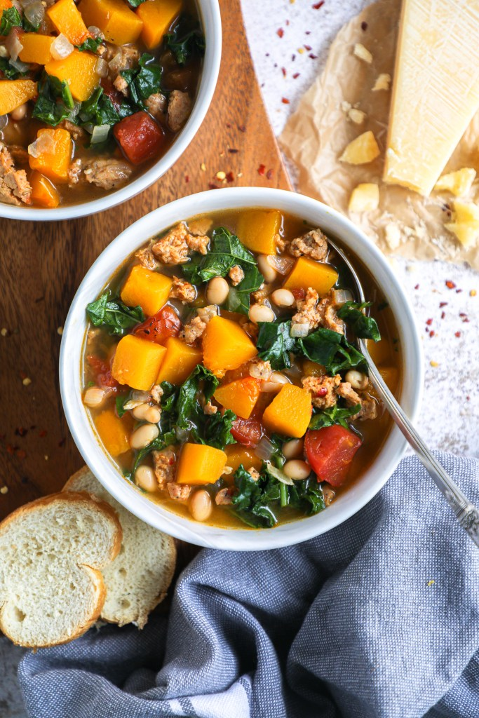 Quick, easy and so simple to make! This hearty winter soup comes together in less than 30 minutes and is the perfect cold weather meal!