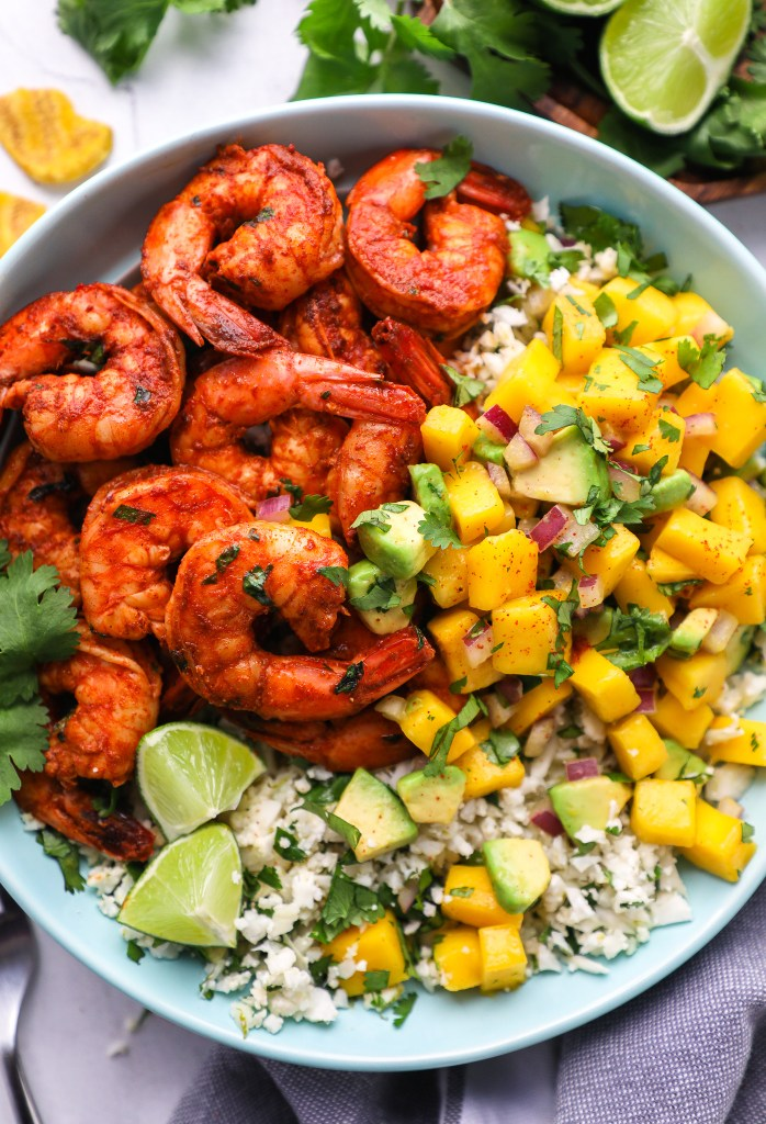 Tangy, spicy and so refreshing too! This hearty bowl is loaded with Mexican flare and perfect for a weeknight meal!