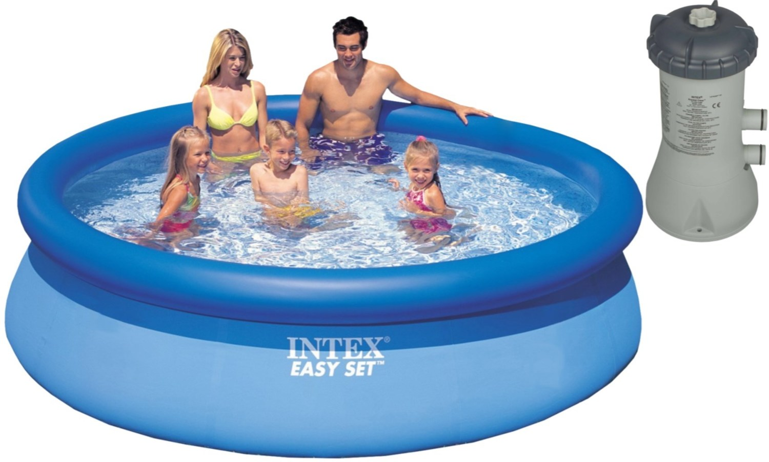 Pool Ohne Filterpumpe Intex Easy Set Pool 457x91 Cm Mit Filterpumpe