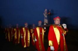 Les chevaliers du Tastevins pour la Saint-Vincent tournante 2017 / Photo Jean-Luc Petit