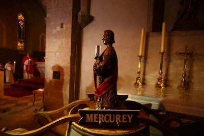 Statues de Saint-Vincent à la messe de la Saint-Vincent tournante 2017 /Photo Jean-Luc Petit