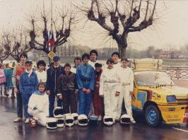 Les égarés du Paris Lans Dakar - 1987 - Don Comité des fêtes