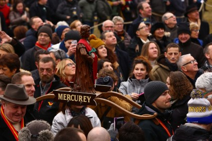 Statue de Saint-Vincent Mercurey / Crédit Jean-Luc Petit