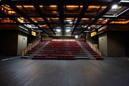 photographie du petit espace de l'Espace des arts avant rénovation