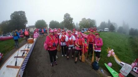 Octobre rose : Les Dragon Ladies sur le départ