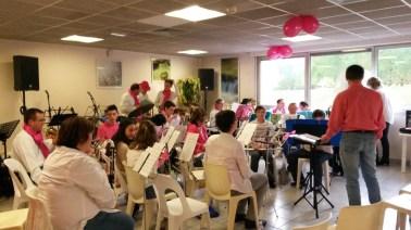 Orchestre d'Octobre rose pour la lutte contre le cancer du sein