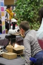 L'IUT sort sont microscope au Village des Sciences 2017