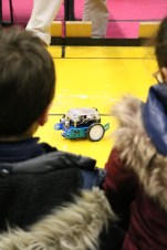 Le robot FabLab village des sciences