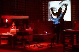 Le spectacle Journal d'un disparu à l'espace des arts de Chalon sur Saône