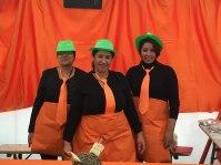 Nawal, Aicha et Radia soupe carottes coco