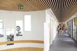 hall d'entrée de la crèche des pres saint jean à chalon-sur-saône