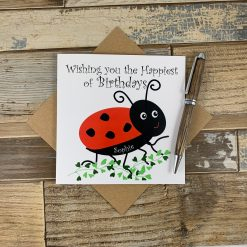 Ladybird Design Children's Birthday Card