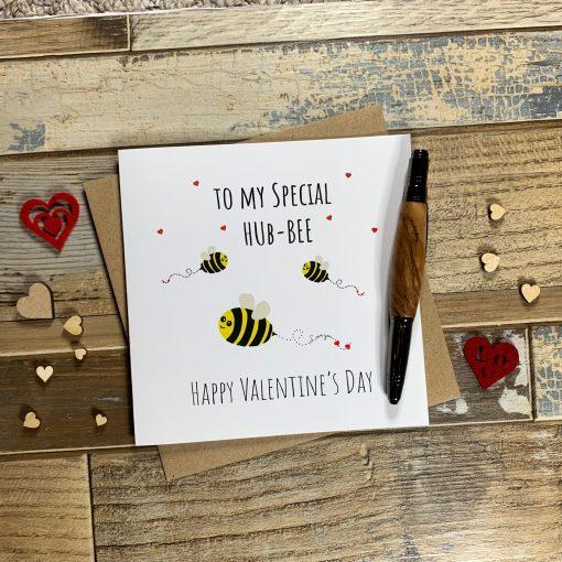 Hub-Bee Valentines Card