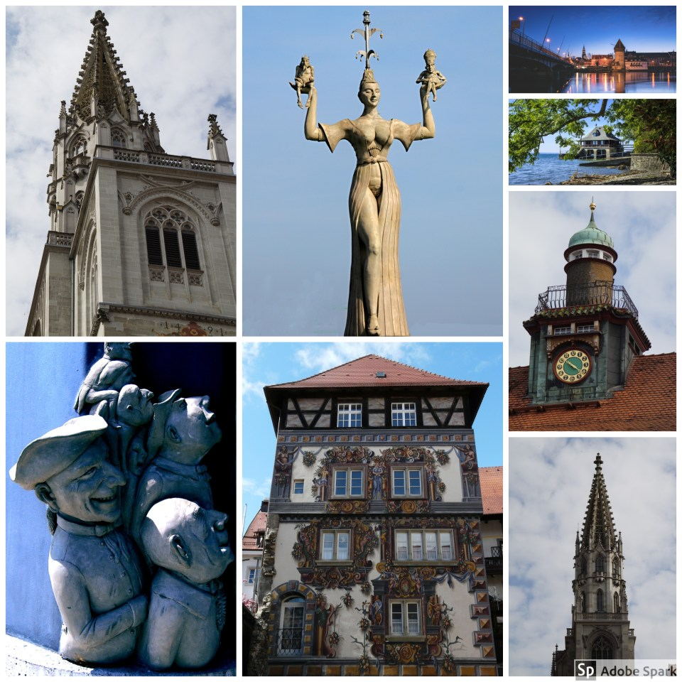 Collage of images from Konstanz by PB