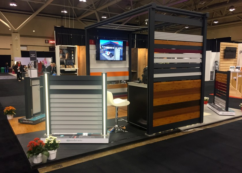 IIDEX Canada 2016 trade show booth design.