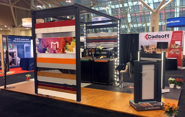 IIDEX Canada 2016 booth