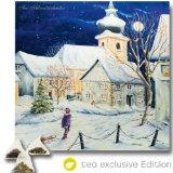 XL Tee-Adventskalender 2015 (48x49cm!) 24 Pyramiden-Beutel, hochwertige Kräuter-, Früchtetees - tea exclusive Edition