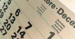 DIN-Formate: Kalender