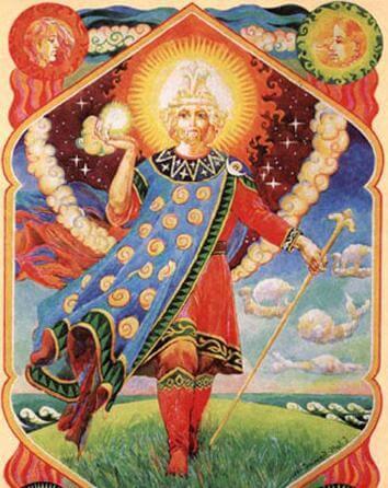 bóg słowiański Jaryła