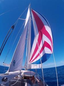 Überfahrt nach Sardinien, Besan-Ballooner