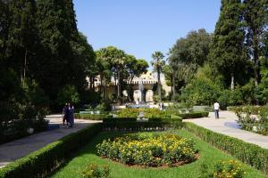 Fes, Park außerhalb der Medina