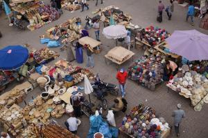 Marrakesh, Markt in den Souks