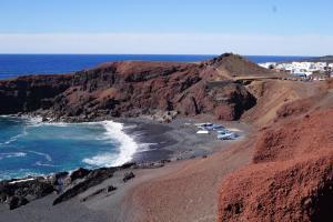 Lanzarote, Wasser, Farben, Bucht